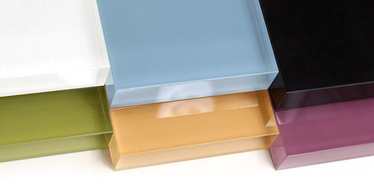 Back Painted Colored Glass Surface Products Materials