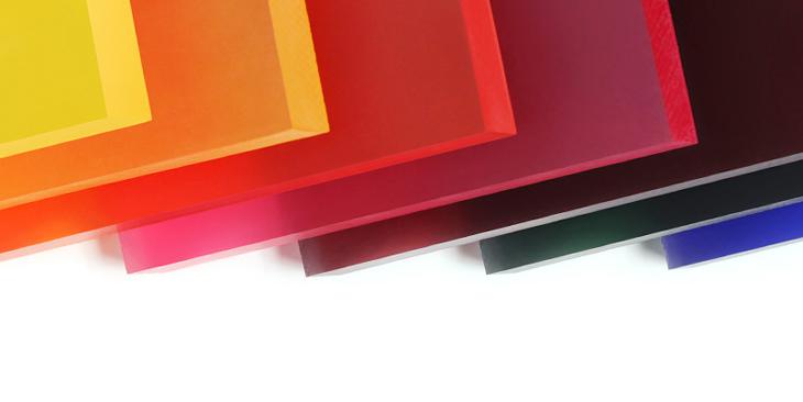 translucent acrylic panels