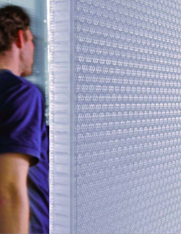AIR-board sound absorbing polycarbonate panels