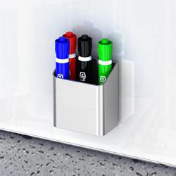 Magnetic Glass Dry Erase Marker Holder Surface Products