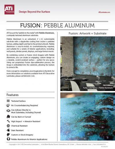 pebble aluminum ati fusion