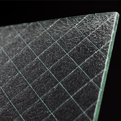 patterned glass, pebbled glass from surface products diamond wire