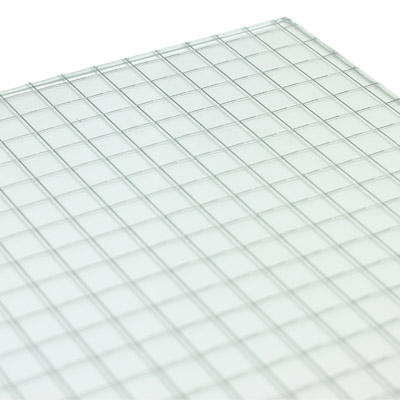 surface products patterned glass square wire