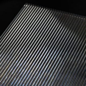 surface products patterned glass thin ribbed
