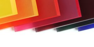 translucent acrylic panels feature surface products