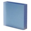 translucent acrylic panels surface products lux tone maya blue