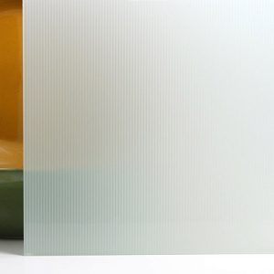 white glass glaspro surface products fog ribbed