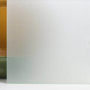 white glass glaspro surface products sea salt ribbed