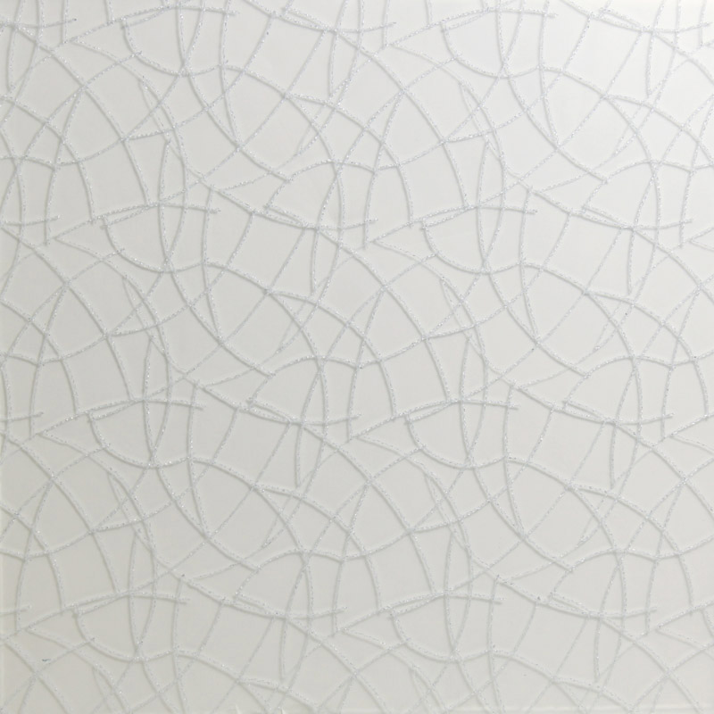 surface products fabrics in glass Badgely Silver