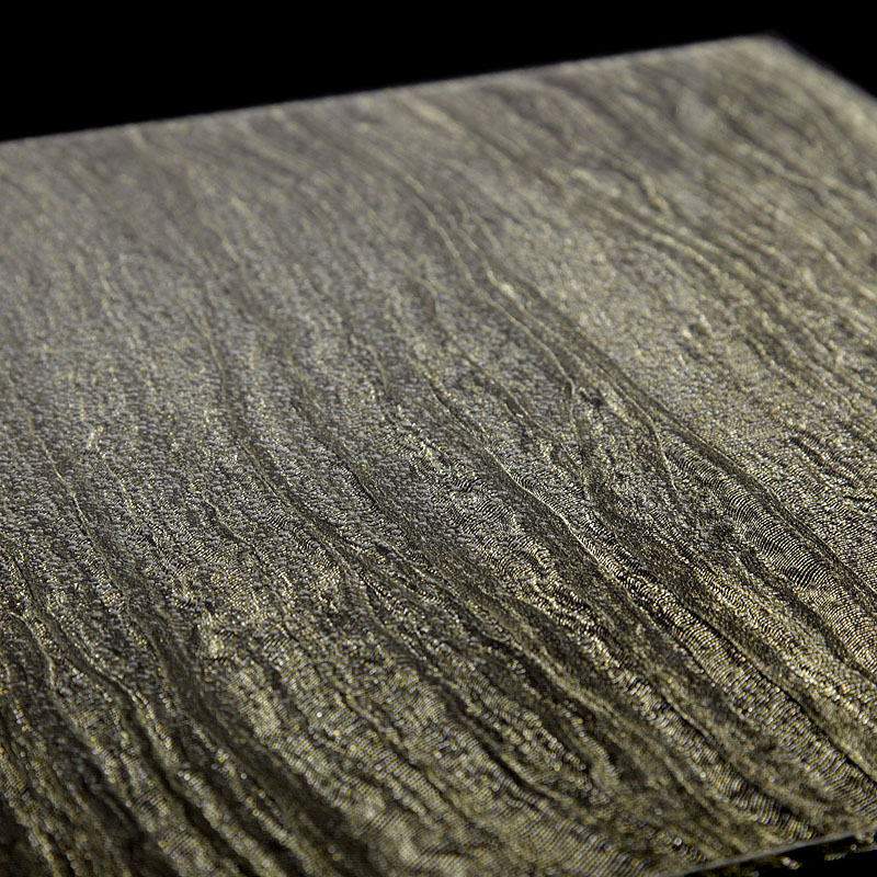 surface products fabrics in glass Enamor Black Gold