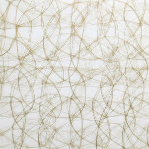 surface products fabrics in glass Fishnet Gold
