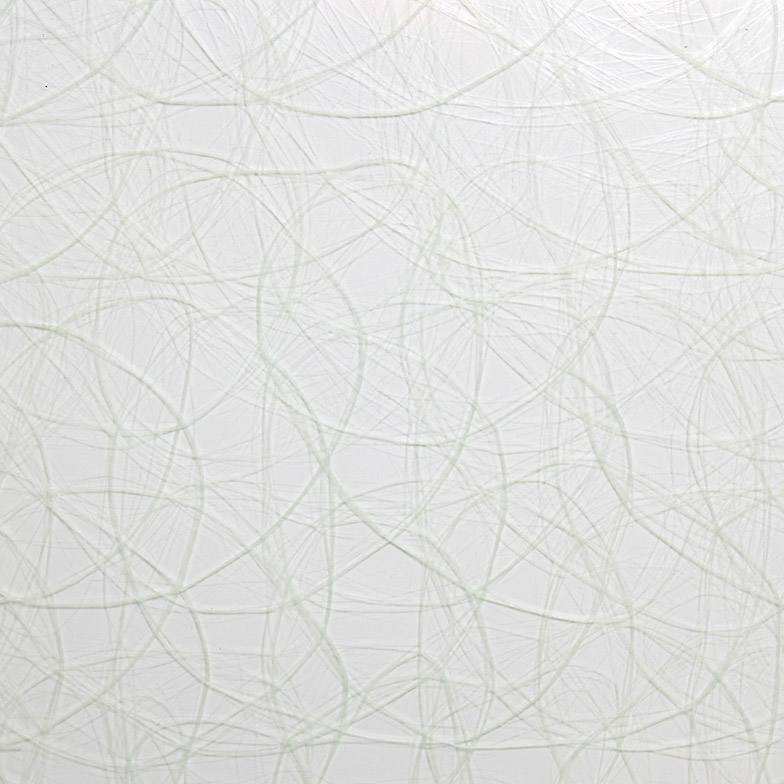 surface products fabrics in glass Fishnet White
