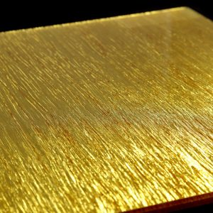 surface products fabrics in glass Shimmer Gold