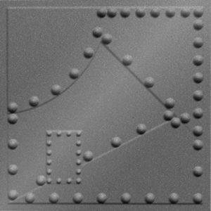 MirroFlex pattern metal plates 300x300