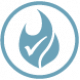 autex acoustics icon fire