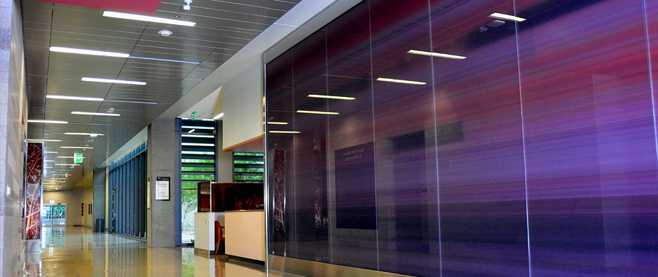surface products Laminated HD Graphics in Glass Anderson Center 3