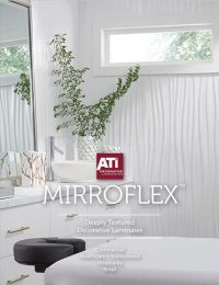 surface products MirroFlex textured laminates catalog