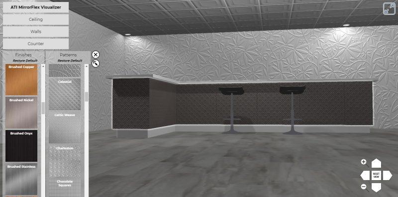 surface products ati mirroflex visualizer