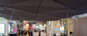 autex acoustics Quietspace 3D Ceiling Tile Banner 4