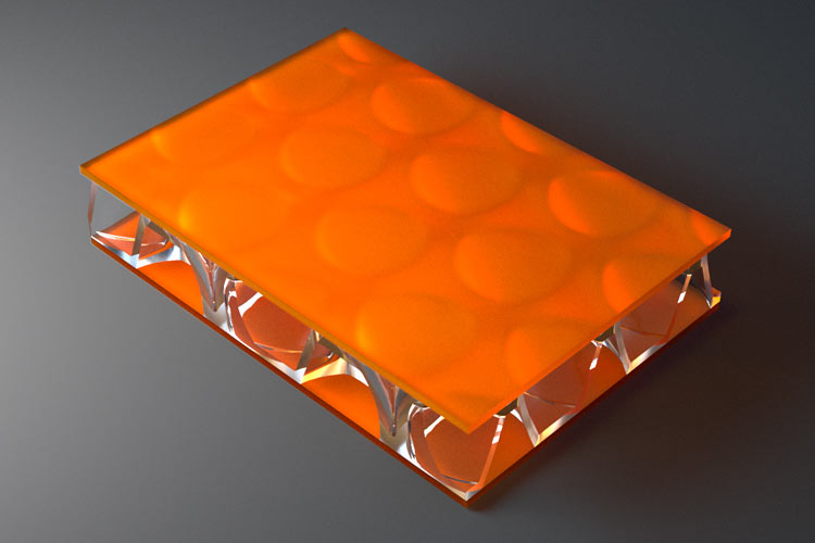 surface products clear pep UV Satin Orange