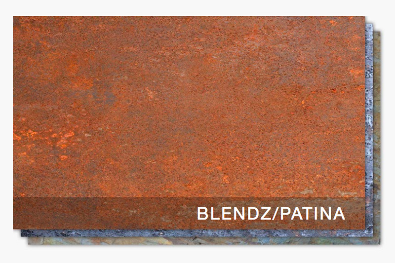 Moz Sheet Metal Blendz / Patina