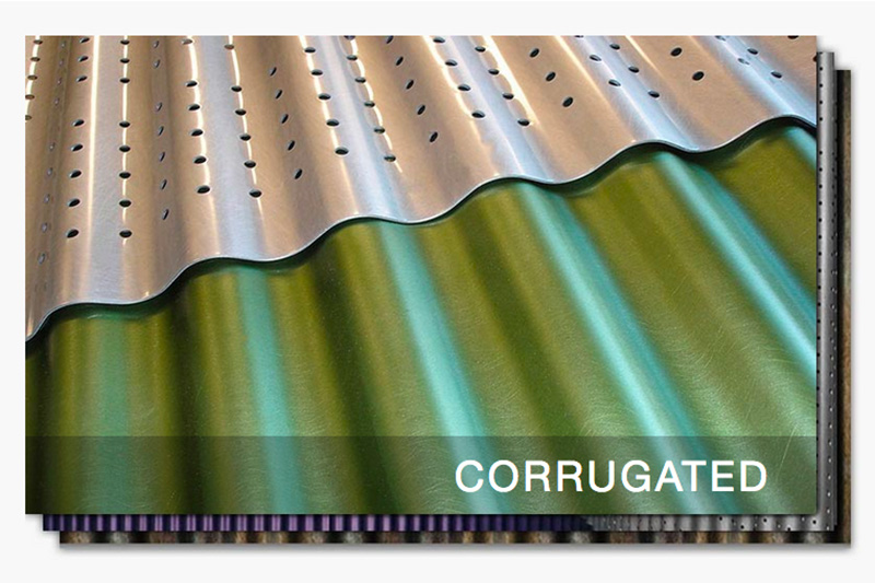 Moz Sheet Metal Corrugated