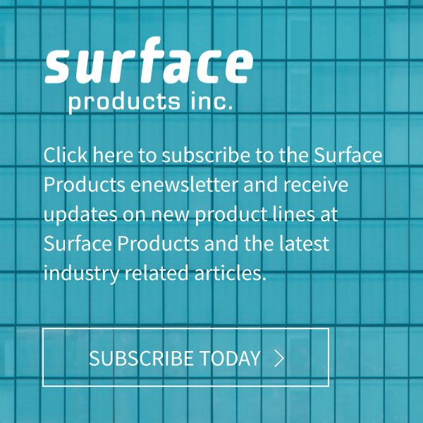 Surface Products eNewsletter Subscibe