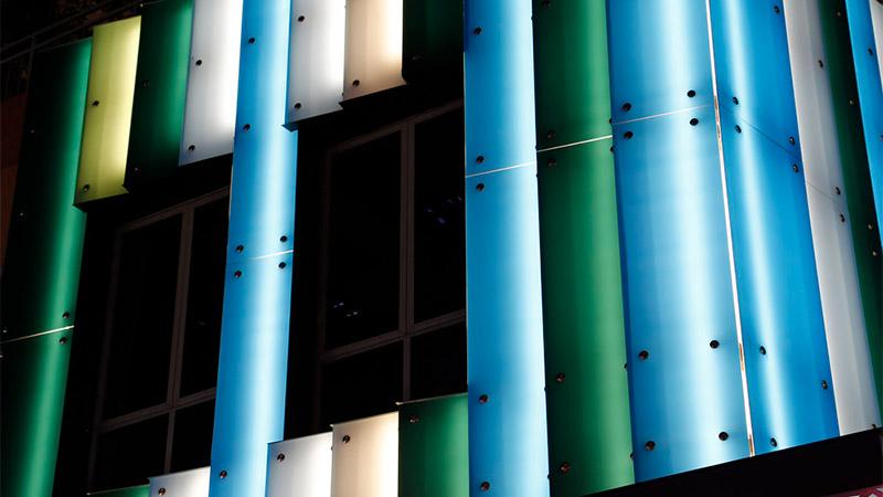 surface products glaspro backlit colored glass lululemon 1