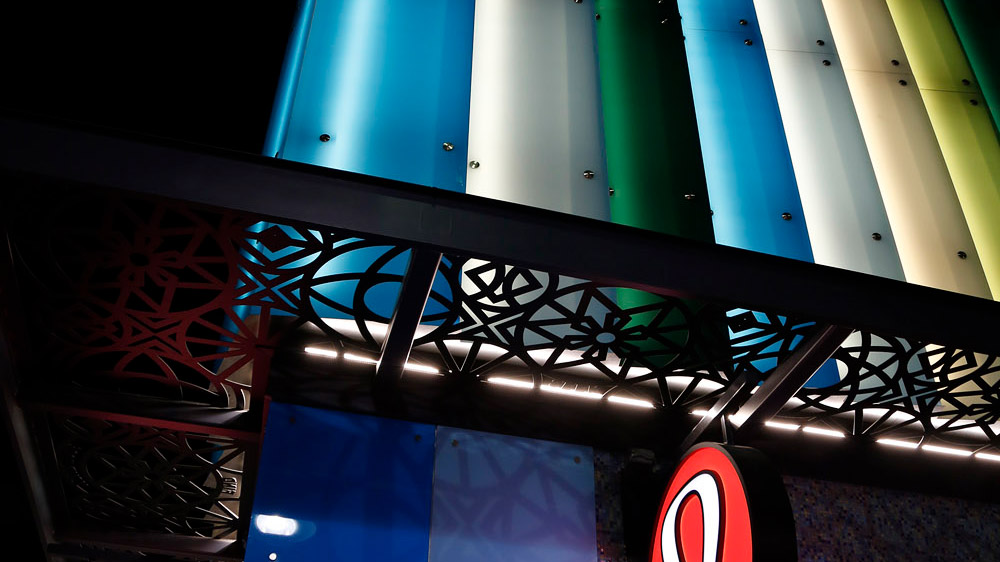 surface products glaspro backlit colored glass lululemon 3