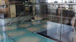 Laminated Glass Floor charlie palmer restaurant 1