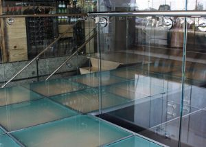 Laminated Glass Floor charlie palmer restaurant 1
