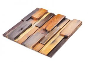 Lux wood reclaimed wood panels from Surface Products in Vancouver
