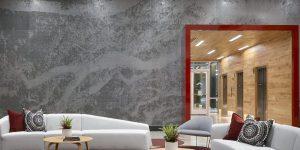laser cut metal panel student housing Moz metal