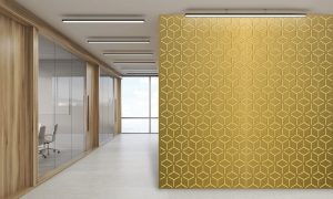 laser cut metal wall