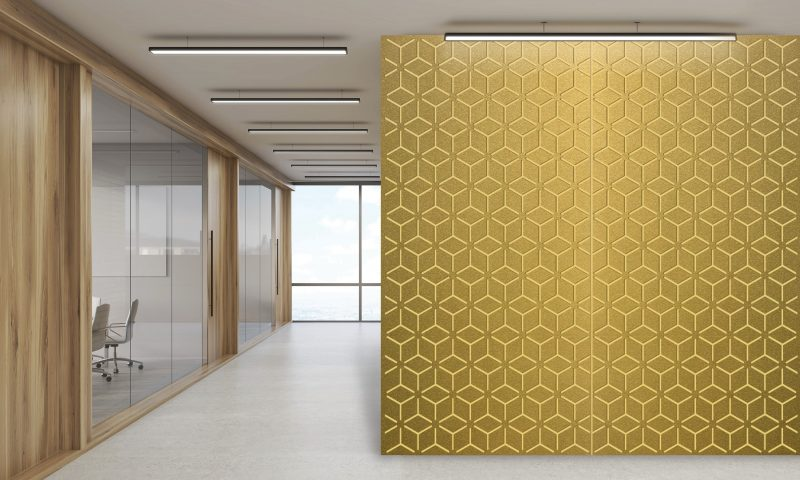 laser cut metal wall
